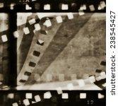 grunge film strip background   Shutterstock . vector #238545427