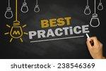 best practice concept on... | Shutterstock . vector #238546369