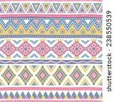 seamless vector geometric... | Shutterstock .eps vector #238550539