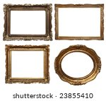 set of beautiful frames 3  ... | Shutterstock . vector #23855410