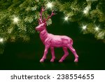 An Image Of A Pink Deer...