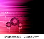 valentine's day disco flayer... | Shutterstock .eps vector #238569994