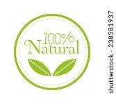 organic food   Shutterstock .eps vector #238581937