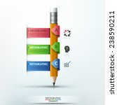 modern infographic template... | Shutterstock .eps vector #238590211