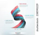 modern infographics options... | Shutterstock .eps vector #238590229