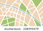 abstract city map illustration... | Shutterstock .eps vector #238595479