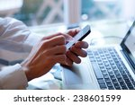 mobile bank online | Shutterstock . vector #238601599