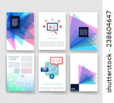 applications and infographic... | Shutterstock .eps vector #238604647