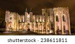 Palais Des Papes In Avignon  A...