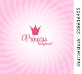 princess abstract  background... | Shutterstock .eps vector #238616455