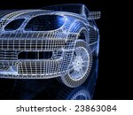 car model   Shutterstock . vector #23863084