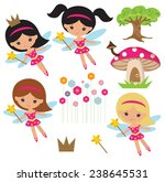 fairy vector illustration | Shutterstock .eps vector #238645531