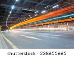 Light Trails Of Vehicles In Th...