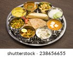 group of indian food or indian... | Shutterstock . vector #238656655