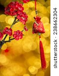 chinese new year's decoration... | Shutterstock . vector #238662304