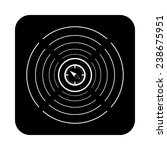 compass on a black background... | Shutterstock .eps vector #238675951