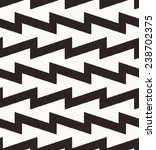 seamless black zigzag pattern | Shutterstock .eps vector #238702375