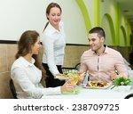 positive european people... | Shutterstock . vector #238709725