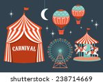 carnival vector illustration | Shutterstock .eps vector #238714669