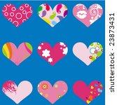heart valentine's | Shutterstock .eps vector #23873431