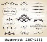 this image is a vector set that ... | Shutterstock .eps vector #238741885