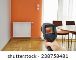 heat loss detection in central... | Shutterstock . vector #238758481