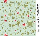 design seamless or ornament... | Shutterstock .eps vector #238788775