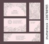 corporate identity vector... | Shutterstock .eps vector #238788985