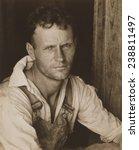 floyd burroughs  sharecropper.... | Shutterstock . vector #238811497
