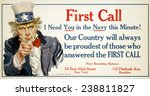 Uncle Sam  'first Call' Us Navy ...