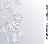 vector winter background with... | Shutterstock .eps vector #238823335