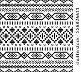 ethnic seamless pattern. aztec... | Shutterstock .eps vector #238826611