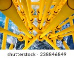 oil and gas producing slots at... | Shutterstock . vector #238846849