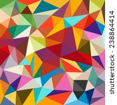abstract colorful geometrical... | Shutterstock .eps vector #238864414