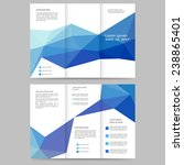 abstract colored brochure... | Shutterstock .eps vector #238865401