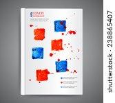 abstract modern template book... | Shutterstock .eps vector #238865407