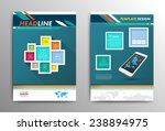 vector brochure template design.... | Shutterstock .eps vector #238894975