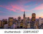 beautiful view of  business... | Shutterstock . vector #238914037