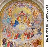 Постер, плакат: The big fresco of