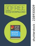 flat e book free download icon. ...