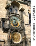astronomical clock | Shutterstock . vector #23893861