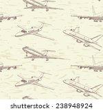 passenger airplane vector... | Shutterstock .eps vector #238948924