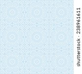seamless vintage geometric... | Shutterstock .eps vector #238961611