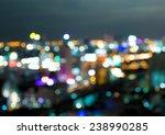 city light blur bokeh ... | Shutterstock . vector #238990285