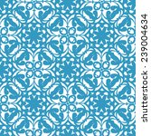 vector damask seamless pattern... | Shutterstock .eps vector #239004634
