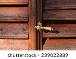 Closed Old Door