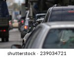 traffic congestion russia | Shutterstock . vector #239034721
