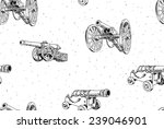 Old Cannons Vector Drawings...