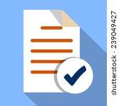 vector  add file document    Shutterstock .eps vector #239049427