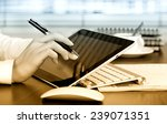 business accounting  | Shutterstock . vector #239071351